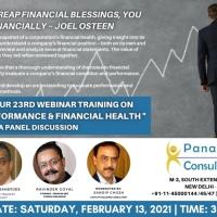 Panacea's 23rd Free Webinar Training