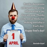 Happy Fools Day...