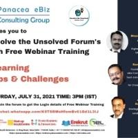 Panacea's 40th Free Webinar Training